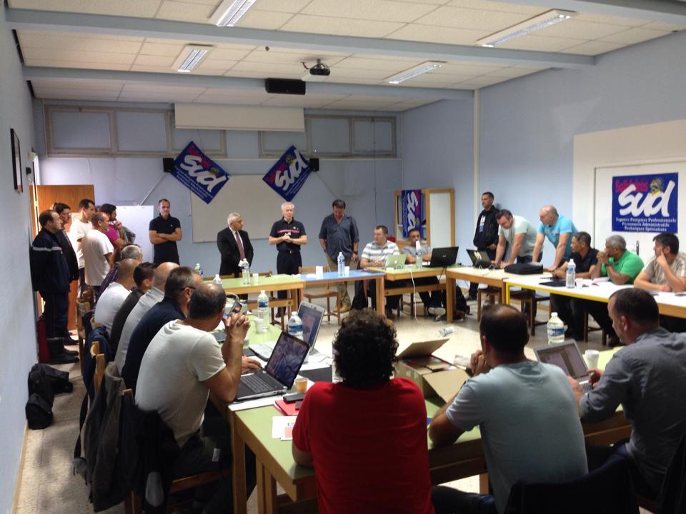 Congrés National Sud Sdis à Nîmes