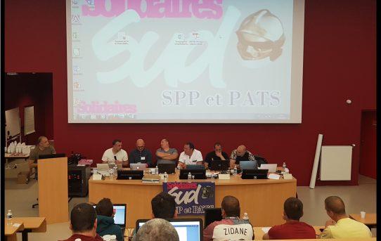 Congrès national SUD SDIS SPP & PATS à Lyon